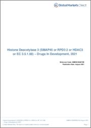 Histone Deacetylase 3 (SMAP45 or RPD3 2 or HDAC3 or EC 3.5.1.98) - Drugs In Development, 2021