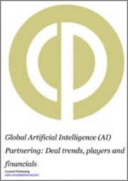 Global Artificial Intelligence (AI) Partnering Terms and Agreements 2010 to 2021