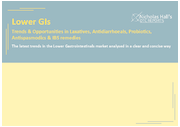 Lower GIs: Trends & Opportunities in Laxatives, Antidiarrhoeals, Probiotics, Antispasmodics & IBS remedies