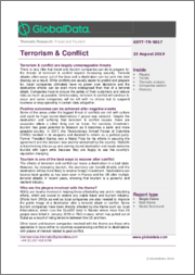 Terrorism & Conflict - Thematic Research
