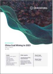 China Coal Mining to 2025 - Updated with Impact of COVID-19