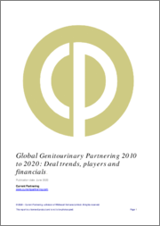 Global Genitourinary Partnering 2010-2021: Deal trends, players and financials