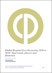 Global Hospital Care Partnering 2014-2021: Deal trends, players and financials
