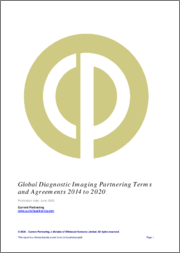Global Diagnostic Imaging Partnering Terms and Agreements 2014 to 2021
