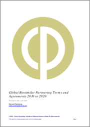 Global Biosimilars Partnering Terms and Agreements 2010 to 2021