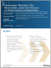 Consumer Markets for Pesticides and Fertilizers: U.S. Market Analysis and Opportunities