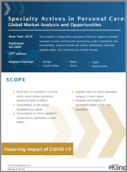 Specialty Actives in Personal Care: Global Market Analysis and Opportunities