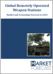 Global Remotely Operated Weapon Stations - Market and Technology Forecast to 2029: Market Forecasts by Region, System Element, and End-User, Country Analysis, Market and Technology Overview, and Leading Company Profiles