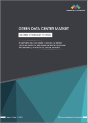 Green Data Center Market by Component (Solutions [Power, IT, Cooling] and Services [Design and Consulting, Maintenance and Support, Installation and Deployment]), Data Center Size (Small and Mid-sized, Large), Vertical, & Region -Global Forecast to 2026