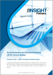 Health Economics and Outcomes Research Services Market Forecast to 2027 - COVID-19 Impact and Global Analysis By Service, Service Provider, End User, and Geography
