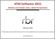 ATM Software 2021 - Market and Vendor Data | Bank Perspectives: Report and Database